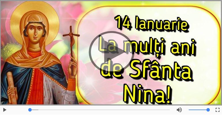 Felicitari muzicale de Sfânta Nina