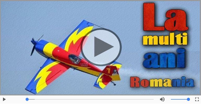 La mulți ani tuturor romanilor si celor ce iubesc Romania!