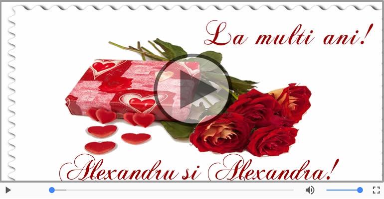 Felicitari muzicale de Sfântul Alexandru - Felicitare muzicala si animata de Sfantul Alexandru