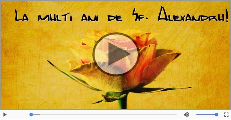 Felicitari muzicale de Sfântul Alexandru - Felicitare muzica de Sfantul Alexandru!