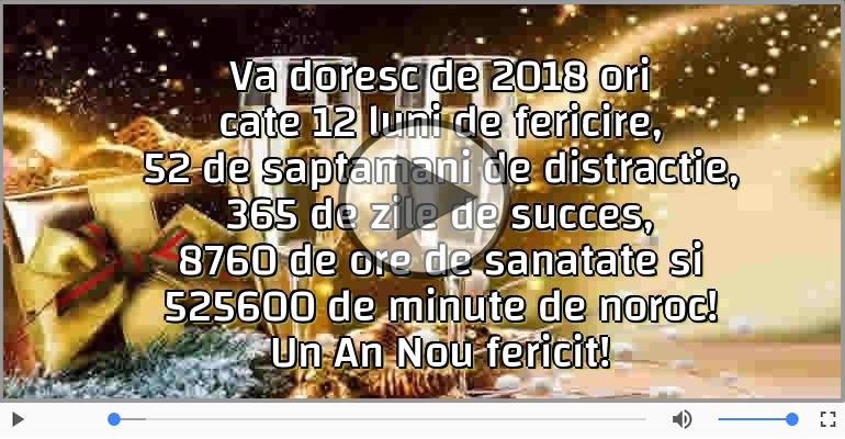 Felicitari muzicale de Anul Nou - Un An Nou fericit!