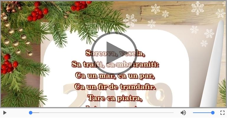 Felicitari muzicale de Anul Nou - Sorcova, vesela ... La anul si la multi ani!