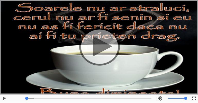Felicitari muzicale de buna dimineata - Cafeaua De Dimineata - Morning Coffee