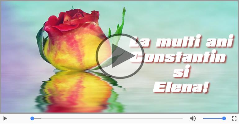 Felicitari muzicale de Sfintii Constantin si Elena - Felicitare muzicala si animata de Sfintii Constantin si Elena