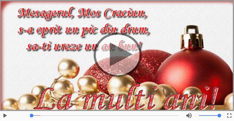 Felicitari muzicale de Craciun - Felicitare muzicala cu mesaje de Craciun!