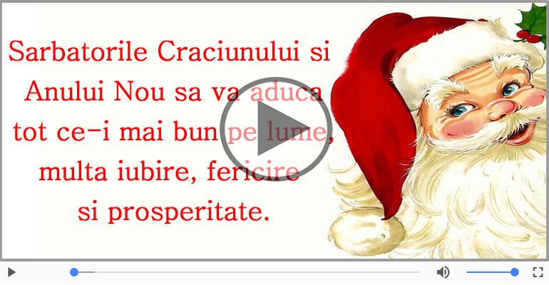 Felicitari muzicale de Craciun - Craciun Fericit!