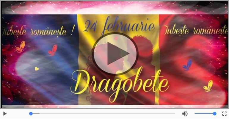 Felicitari muzicale de Dragobete - Dragobete fericit!