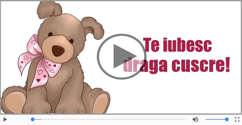 Felicitari muzicale de dragoste - I love you Cuscru! - Felicitare muzicala