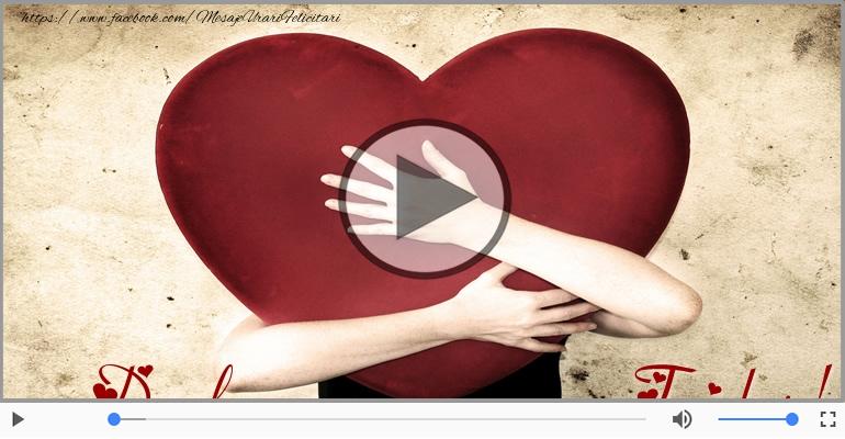 Felicitari muzicale de dragoste - Cu dragoste pentru Dorel