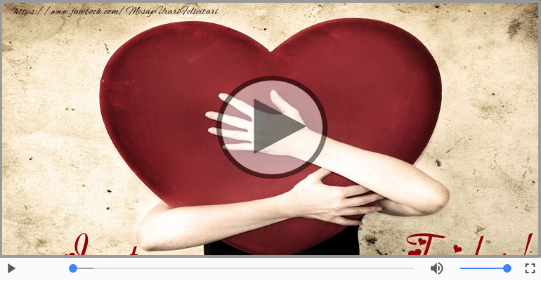 Felicitari muzicale de dragoste - I love you Ionut! - Felicitare muzicala