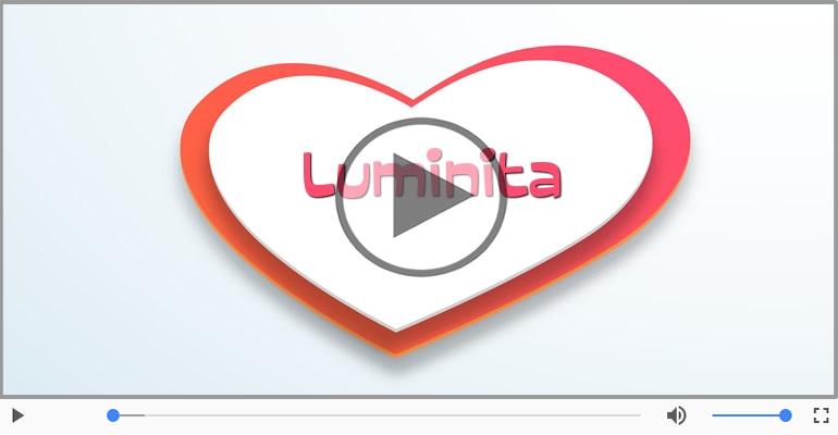 Felicitari muzicale de dragoste - I love you Luminita! - Felicitare muzicala