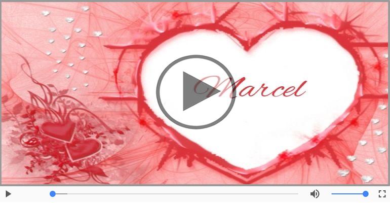 Felicitari muzicale de dragoste - Cu dragoste pentru Marcel
