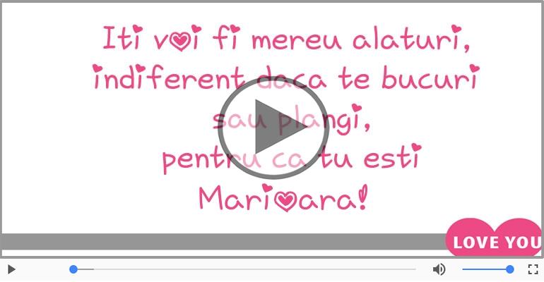 Te iubesc, Marioara!