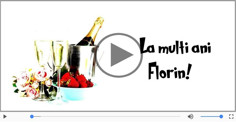 Felicitari muzicale de Florii - Felicitare muzica de Florii!