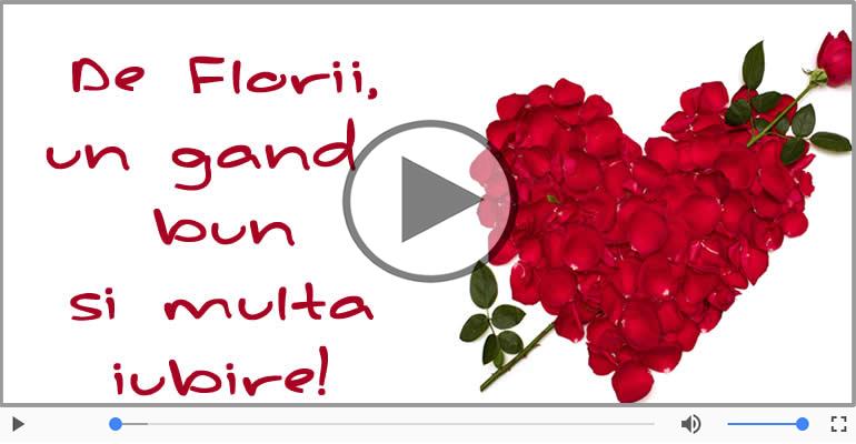 Felicitari muzicale de Florii - La multi ani de Florii felicitare muzicala