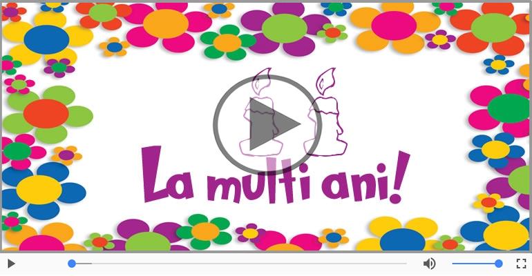 Felicitari muzicale Pentru 11 ani - Felicitare muzicala: La multi ani, 11 ani!