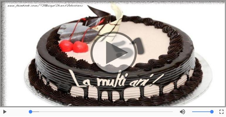 Felicitari muzicale Pentru 51 ani - Felicitare muzicala: La multi ani, 51 ani!