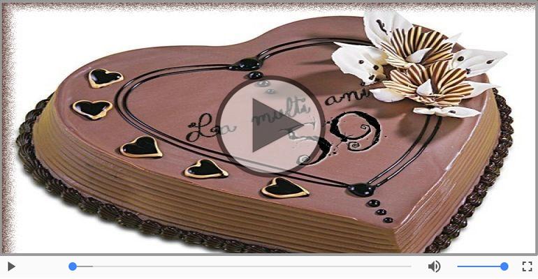 Felicitari muzicale Pentru 59 ani - Cine-i Nascut In Ianuarie...Decembrie, La multi ani, 59 ani!
