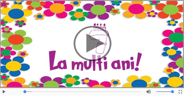 Felicitari muzicale Pentru 7 ani - Cine-i Nascut In Ianuarie...Decembrie, La multi ani, 7 ani!