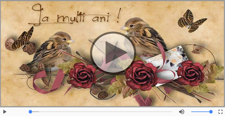 Felicitari muzicale de la multi ani - Felicitare muzicala de la multi ani, cine-i nascut in Ianuarie ... Decembrie