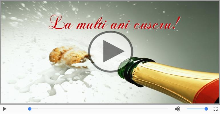 Felicitari muzicale de la multi ani - Felicitare muzicala - La multi ani, Cuscru!