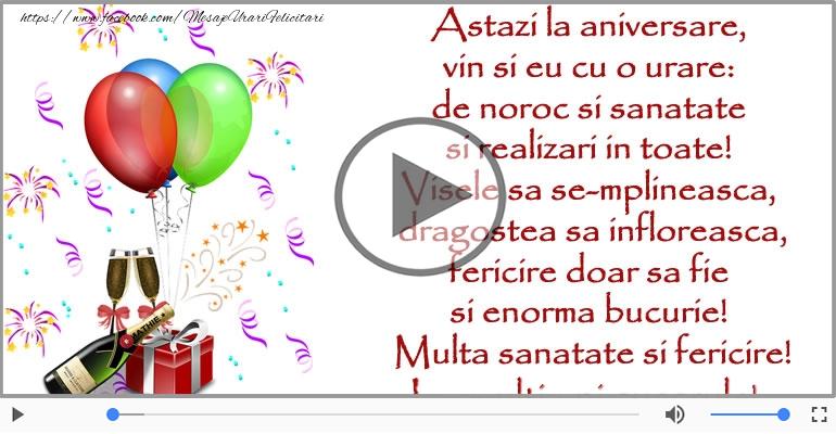 Felicitari muzicale de la multi ani - La multi ani, Cuscru!