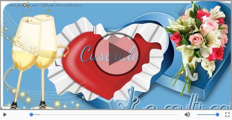Felicitari muzicale de la multi ani - La multi ani cu sanatate, Cuscru!