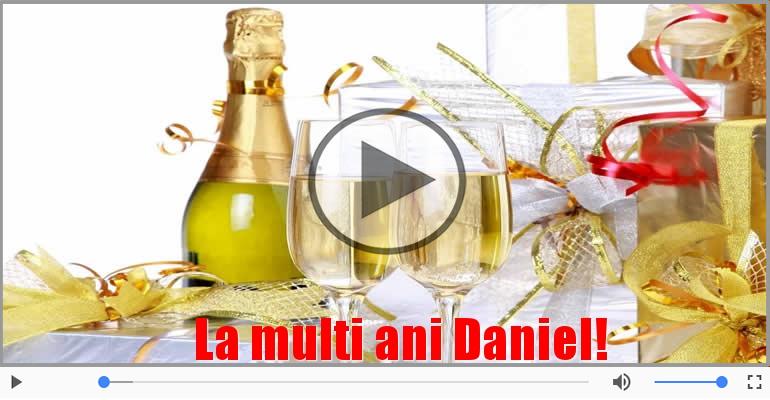 Felicitari muzicale de la multi ani - Felicitare muzicala - Multi ani traiasca pentru Daniel!