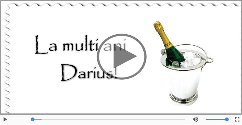 Felicitari muzicale de la multi ani - Felicitare muzicala - La multi ani, Darius!