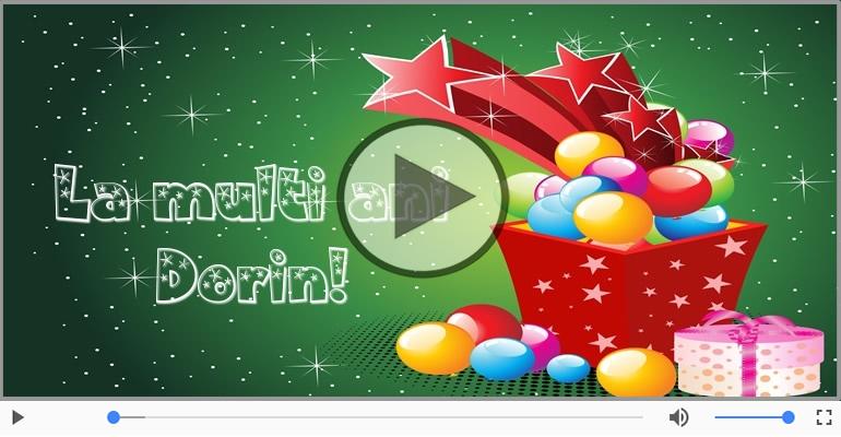 Felicitari muzicale de la multi ani - Felicitare muzicala - Happy Birthday Dorin!