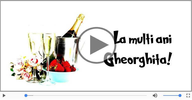 Felicitari muzicale de la multi ani - Felicitare muzicala - Happy Birthday Gheorghita!