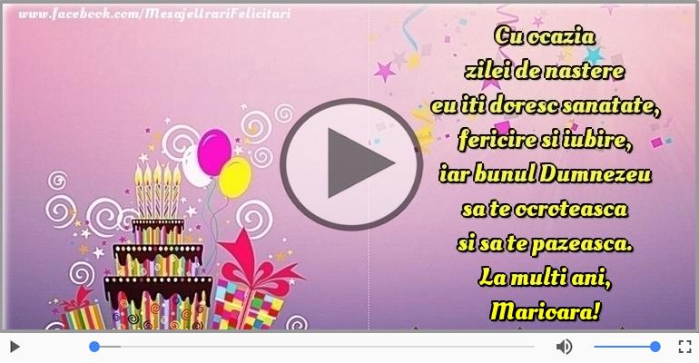 Felicitari muzicale de la multi ani - La multi ani, Marioara!