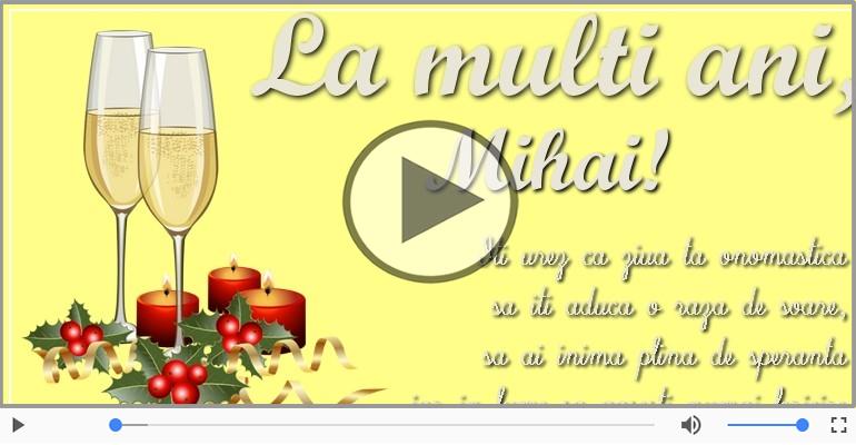 Felicitari muzicale de Sfintii Mihail si Gavriil - La multi ani de Sfintii Mihail si Gavril!
