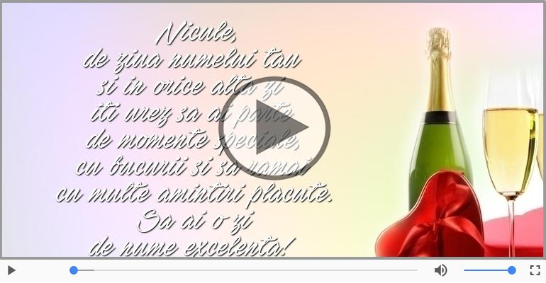 Felicitari muzicale de Sfantul Nicolae - Sa ai o zi de nume excelenta!