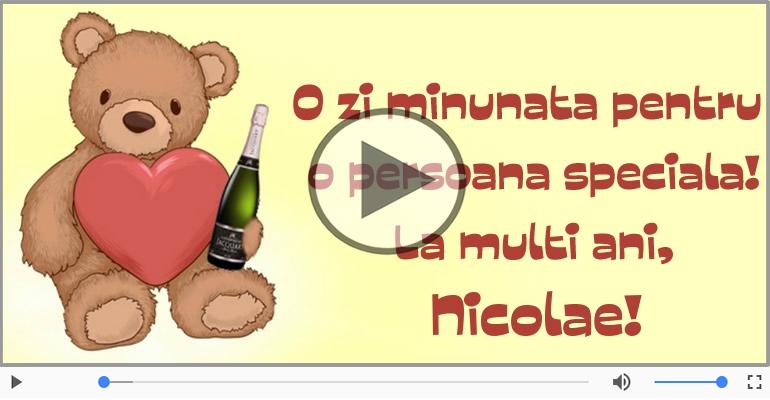 Felicitari muzicale de Sfantul Nicolae - La multi ani de Mos Nicolae!