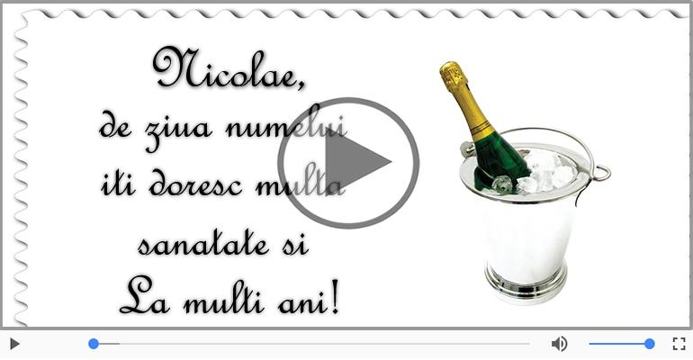 Felicitari muzicale de Sfantul Nicolae - Felicitare muzicala de Mos Nicolae!