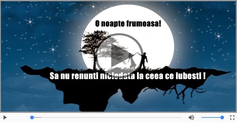 Felicitari muzicale de noapte buna - Felicitare muzicala de noapte buna