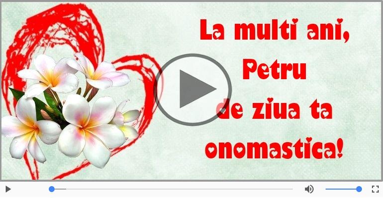 Felicitari muzicale de Sfintii Petru si Pavel - La multi ani de Sfintii Petru si Pavel!