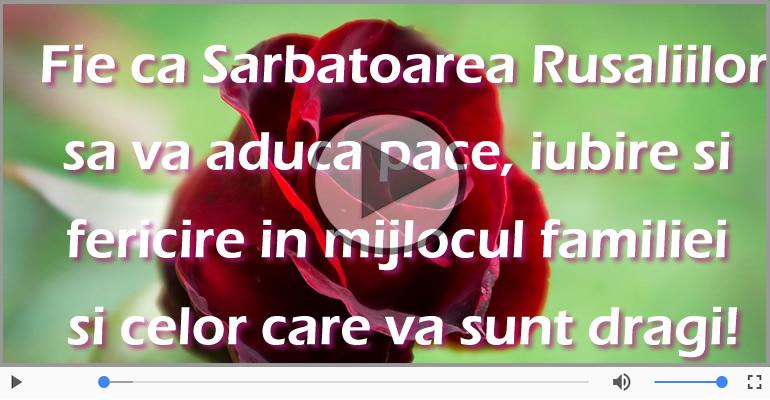 Felicitari muzicale de Rusalii - Felicitari de Rusalii