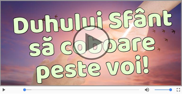 Felicitari muzicale de Rusalii - Felicitare muzicala de Rusalii