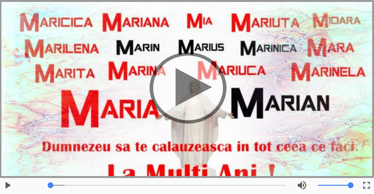 Felicitari muzicale de Sfanta Maria - Felicitare muzica de Sfanta Maria!