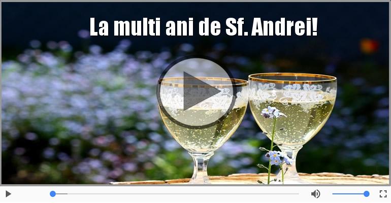 Felicitari muzicale de Sfantul Andrei - La multi ani de Sfantul Andrei!