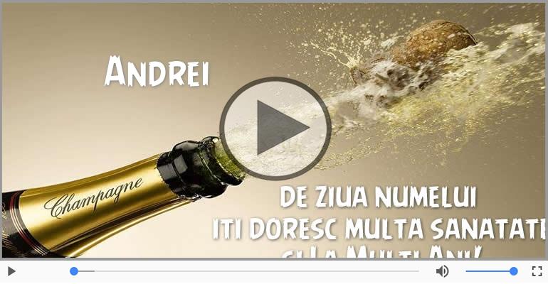 Felicitari muzicale de Sfantul Andrei - Felicitare muzicala de Sfantul Andrei!