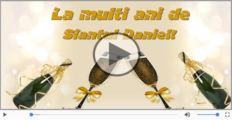 Felicitari muzicale de Sfantul Daniel - La multi ani cu sanatate de Sfantul Daniel!