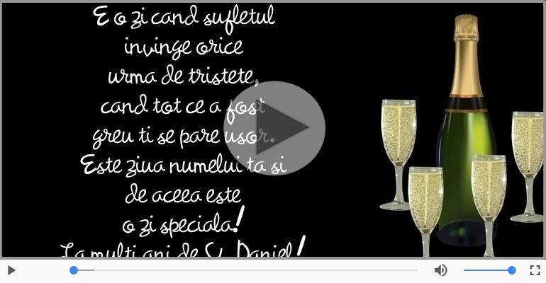 Felicitari muzicale de Sfantul Daniel - La multi ani de Sf. Daniel! - 17 Decembrie