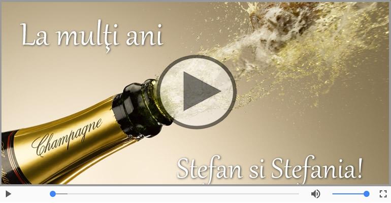 Felicitari muzicale de Sfantul Stefan - Felicitare muzica de Sfantul Stefan!