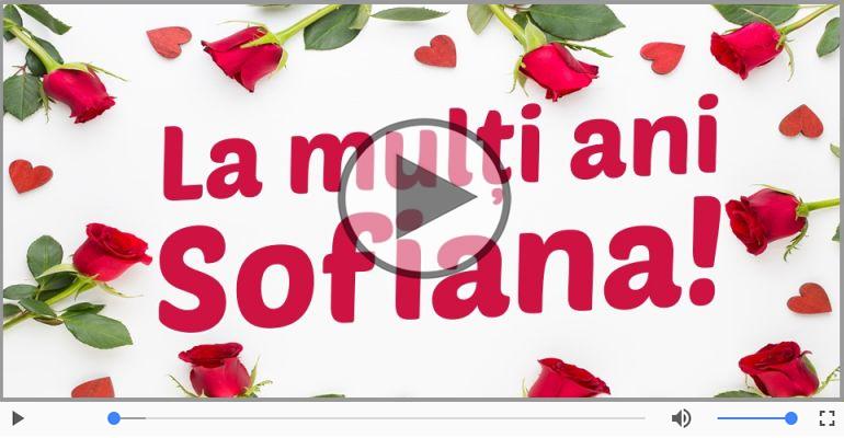 Felicitari muzicale de Sfânta Sofia - Felicitare muzicală de Sfânta Sofia