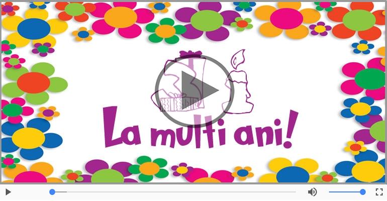Felicitari muzicale Pentru 31 ani - La multi ani 31 ani! Melodia: La multi ani versiunea originala!