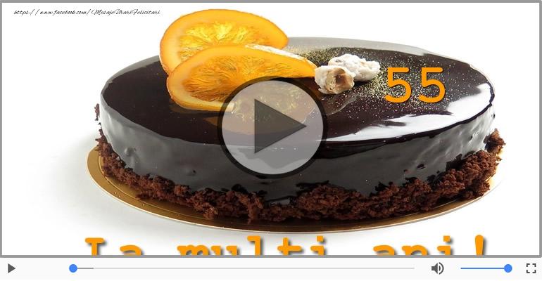 Felicitari muzicale Pentru 55 ani - Happy Birthday, 55 ani!