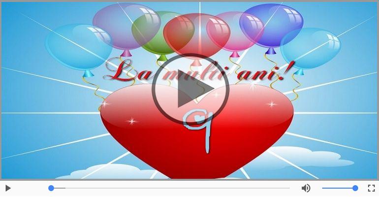 Felicitari muzicale Pentru 9 ani - La multi ani 9 ani! Melodia: La multi ani versiunea originala!